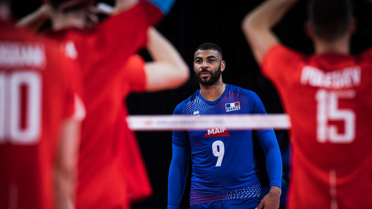 Earvin Ngapeth was France's top scorer as they beat Russia ©Volleyball World