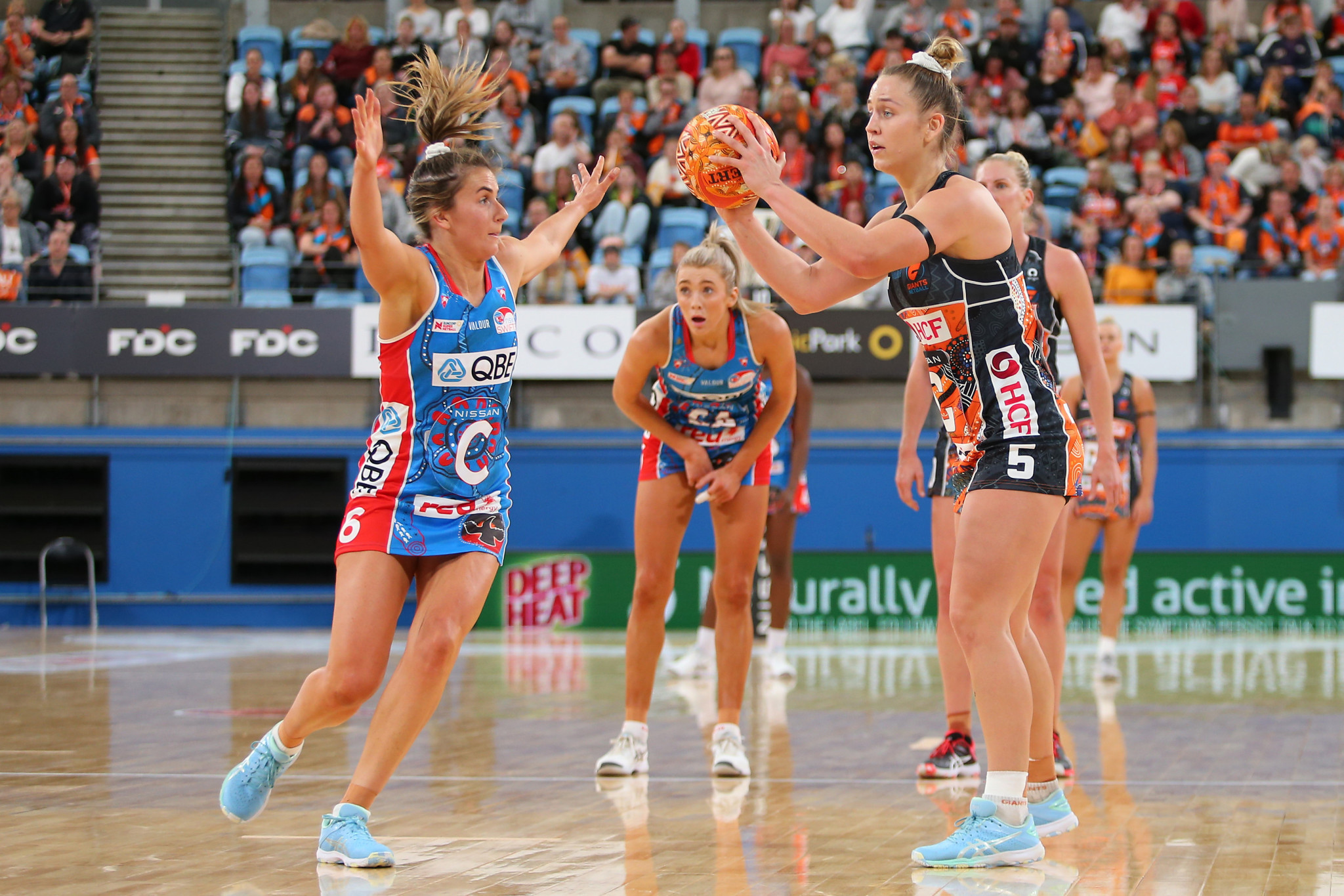 Kelly Ryan take over netball at a time when it is continuing to grow ©Getty Images