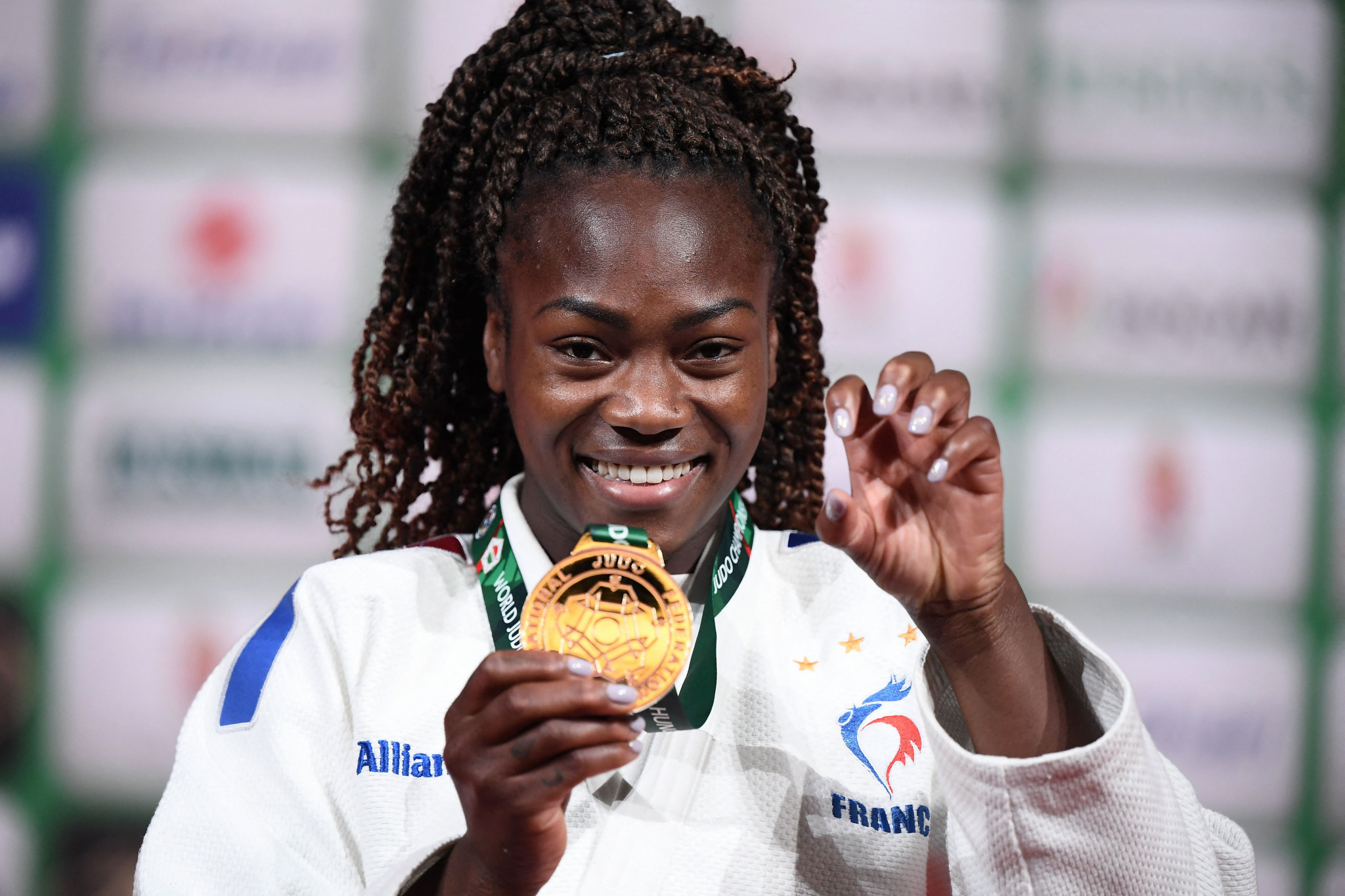 French judo star Agbegnenou plans to take year-long break after Tokyo 2020