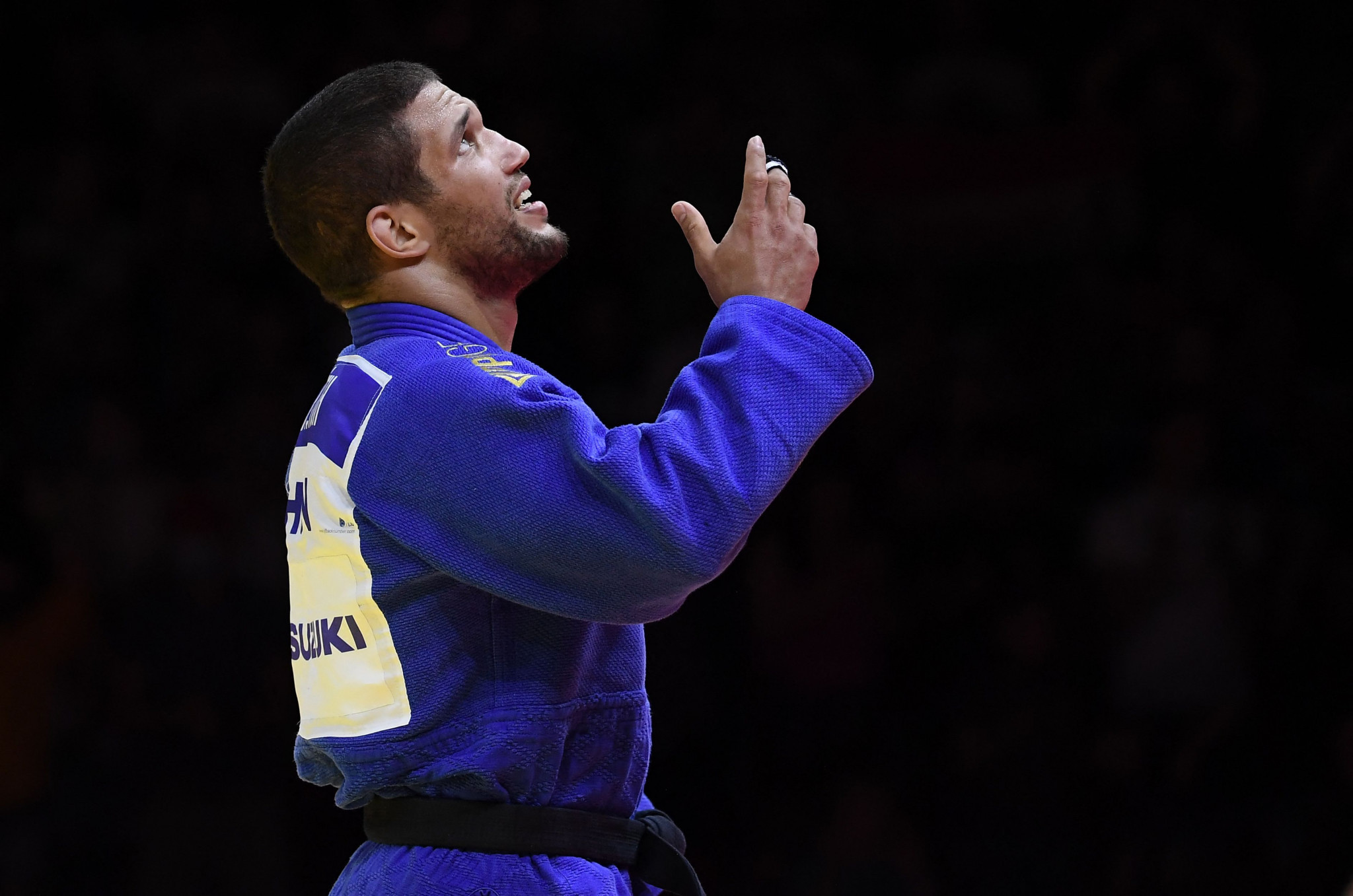Krisztián Tóth delighted the home crowd when delivered Hungary's first medal of the World Judo Championships with a bronze ©Getty Images