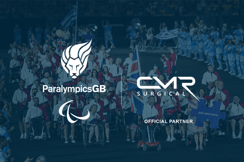 ParalympicsGB signs up CMR Surgical as medical device partner in time for Tokyo 2020