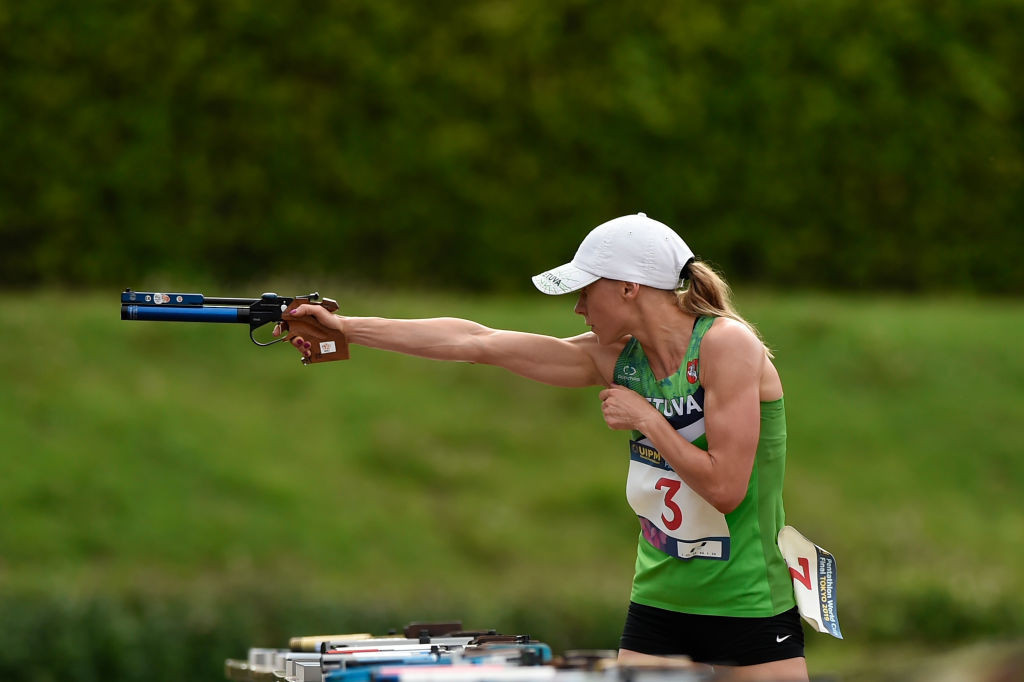 Laura Asadauskaite, the London 2012 champion, was part of a strong Lithuanian showing in women's qualifying at the UIPM World Championships in Cairo ©Getty Images