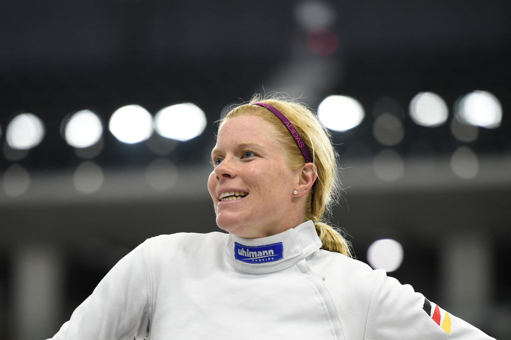 Germany's former world silver medallist Annika Schleu was third in women's qualifying at the UIPM World Championships in Cairo ©Getty Images