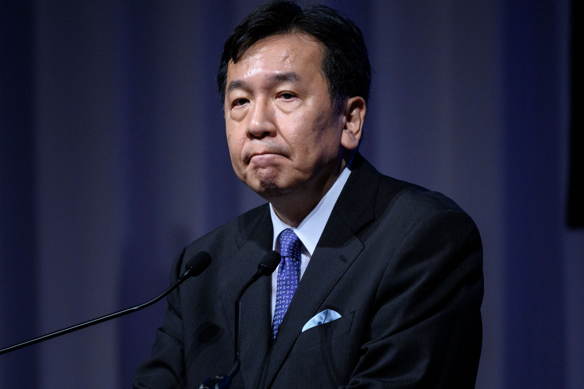 Japan's opposition leader calls for Bach and other VIPs to be banned from Tokyo 2020