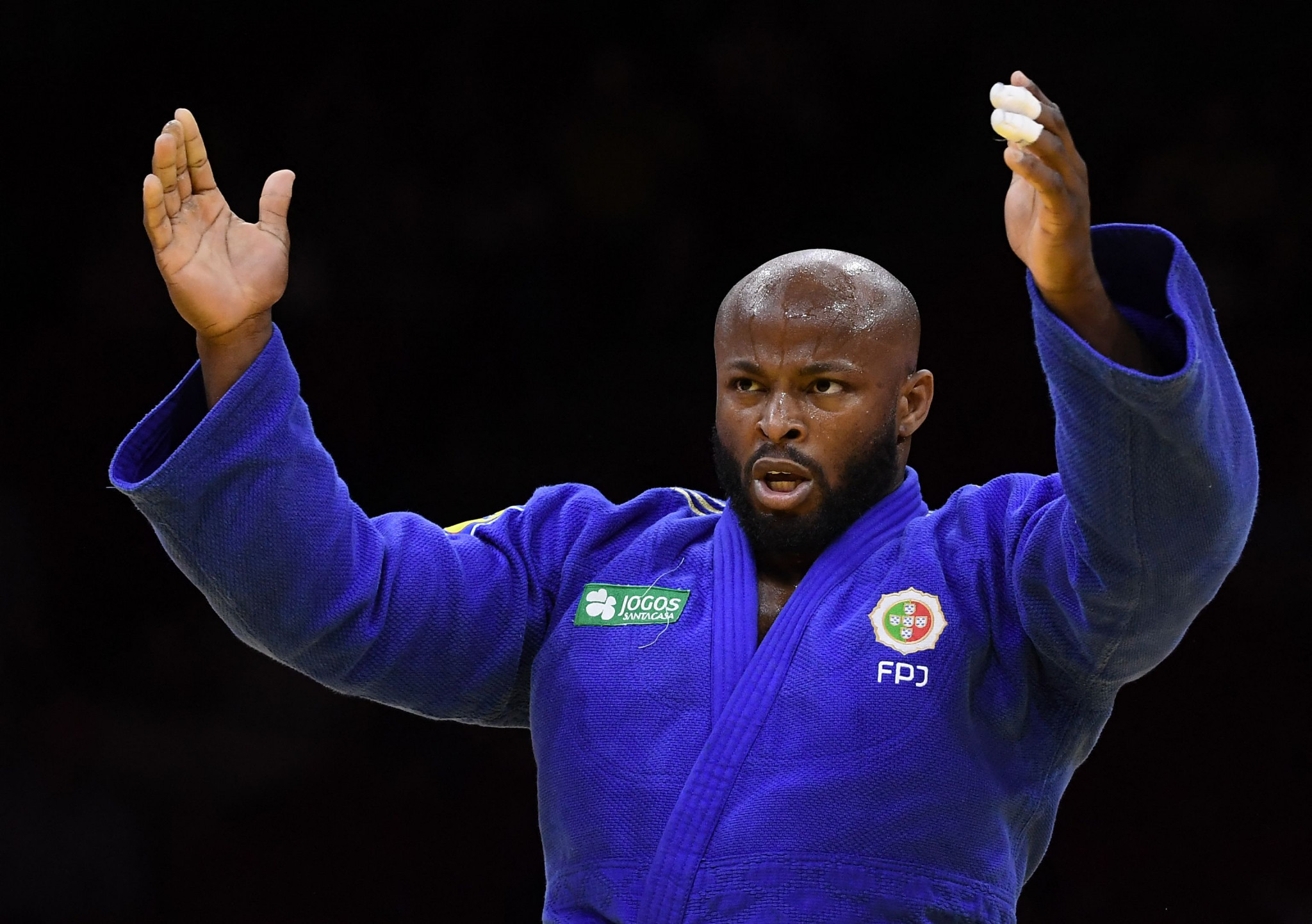 Jorge Fonseca retained his men's under-100kg title ©Getty Images