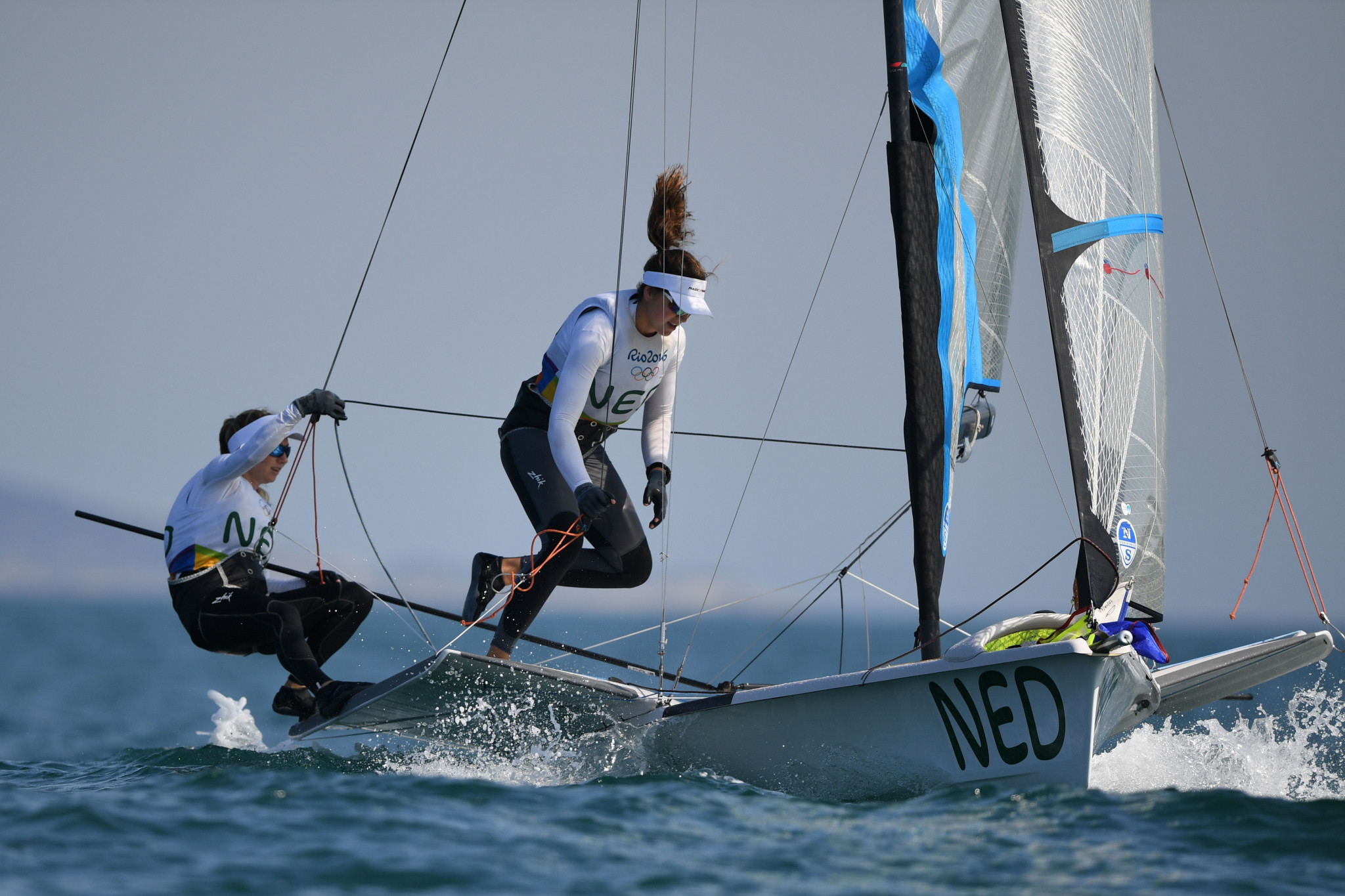 Dutch Tokyo 2020 choices flying high in 49er and 49erFX at World Sailing Cup in Medemblik