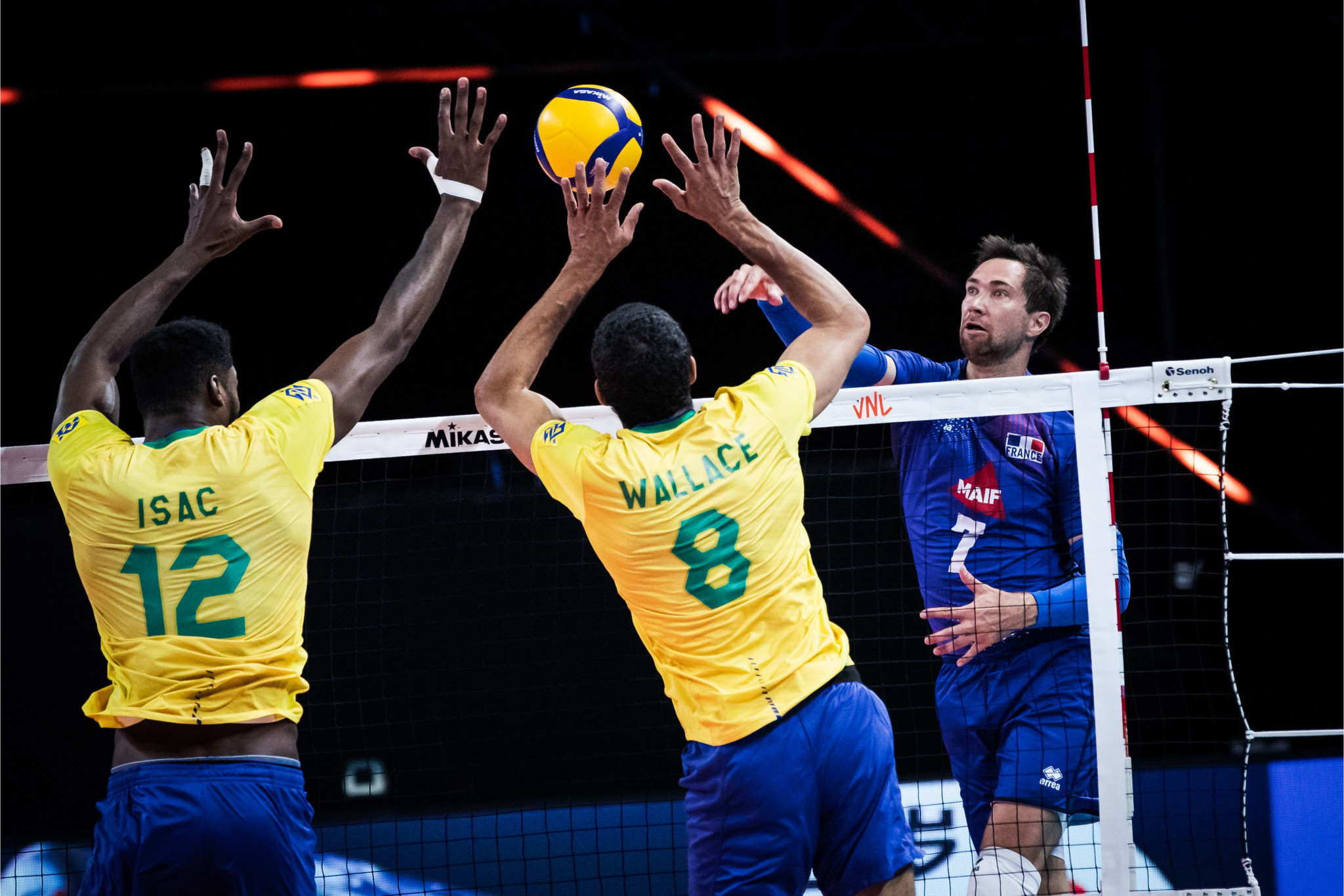 Brazil lead men's Volleyball Nations League after third week of matches