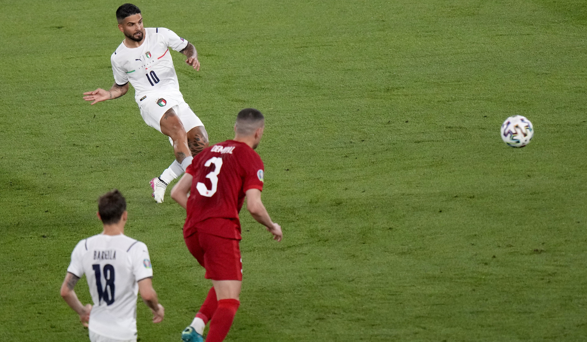 Italy open delayed UEFA Euro 2020 tournament with emphatic win