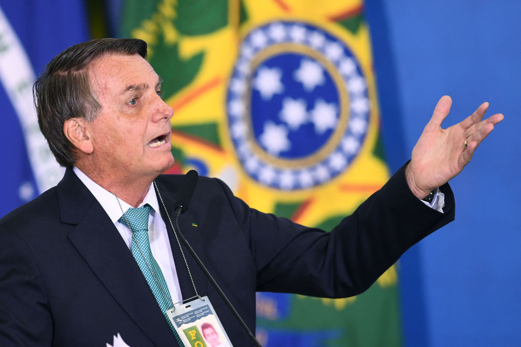 Critics of far-right President Jair Bolsonaro are among those to have expressed opposition to Brazil staging the tournament ©Getty Images