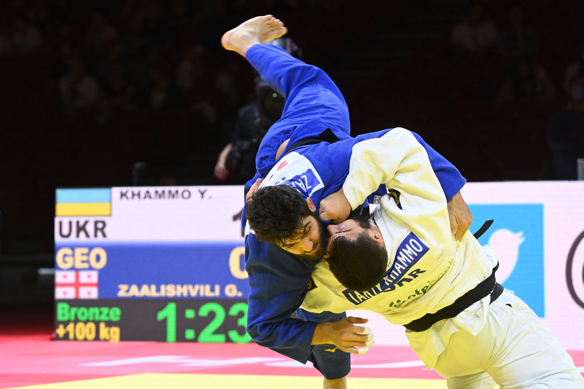 IJF World Championships: Day eight of competition
