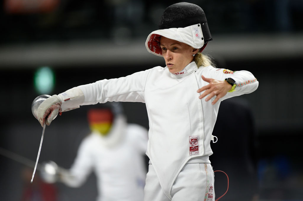Prokopenko regains women's world modern pentathlon title for Belarus hat-trick