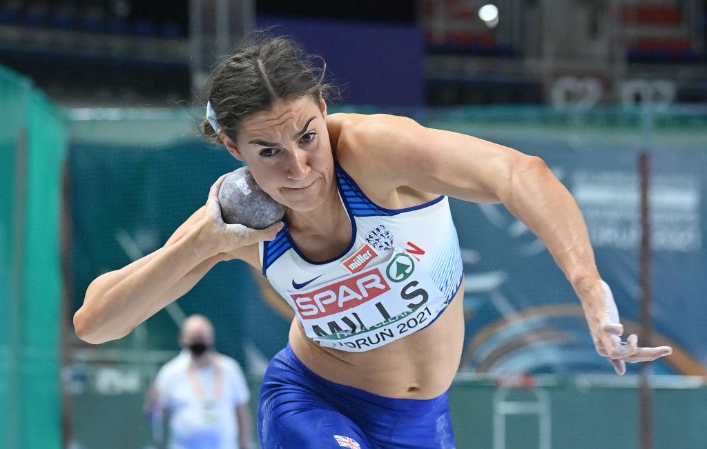Britain's Mills overnight heptathlon leader in World Athletics Challenge Combined Events meeting at Arona