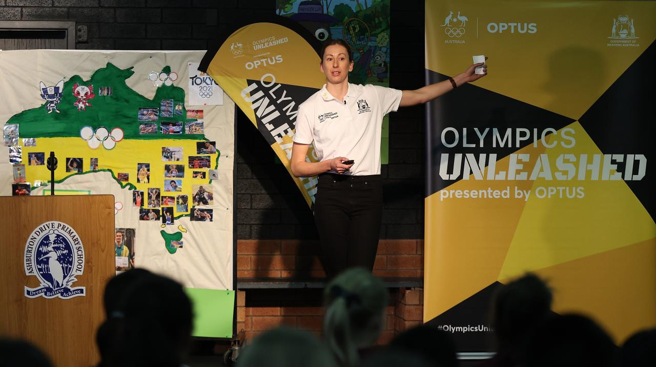 Olympics Unleashed launches in Western Australia