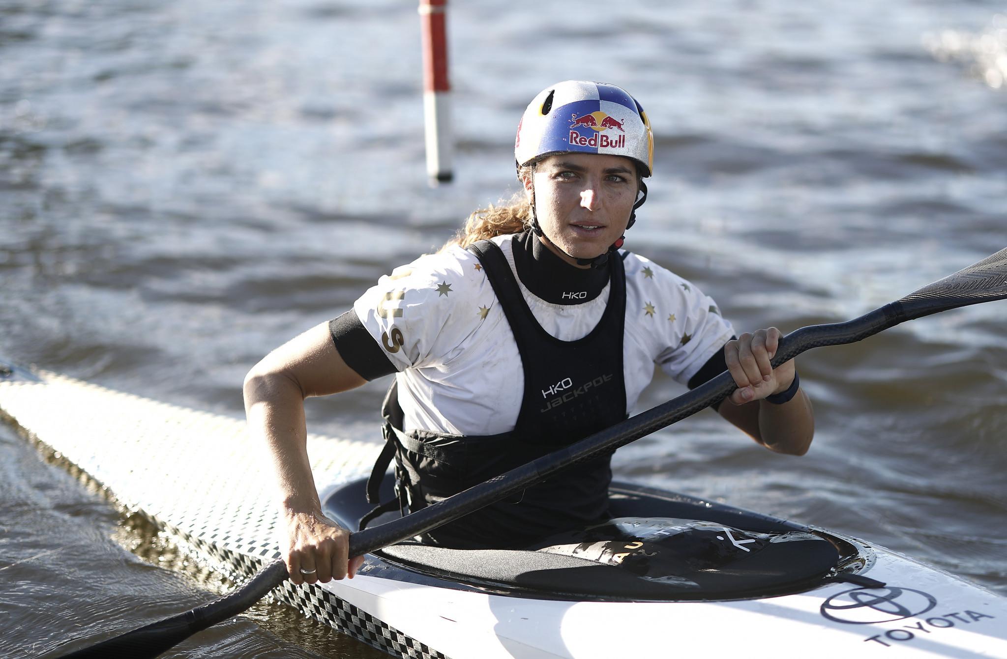 Jessica Fox získala zlato v slalomu pro kanoe žen © Getty Images