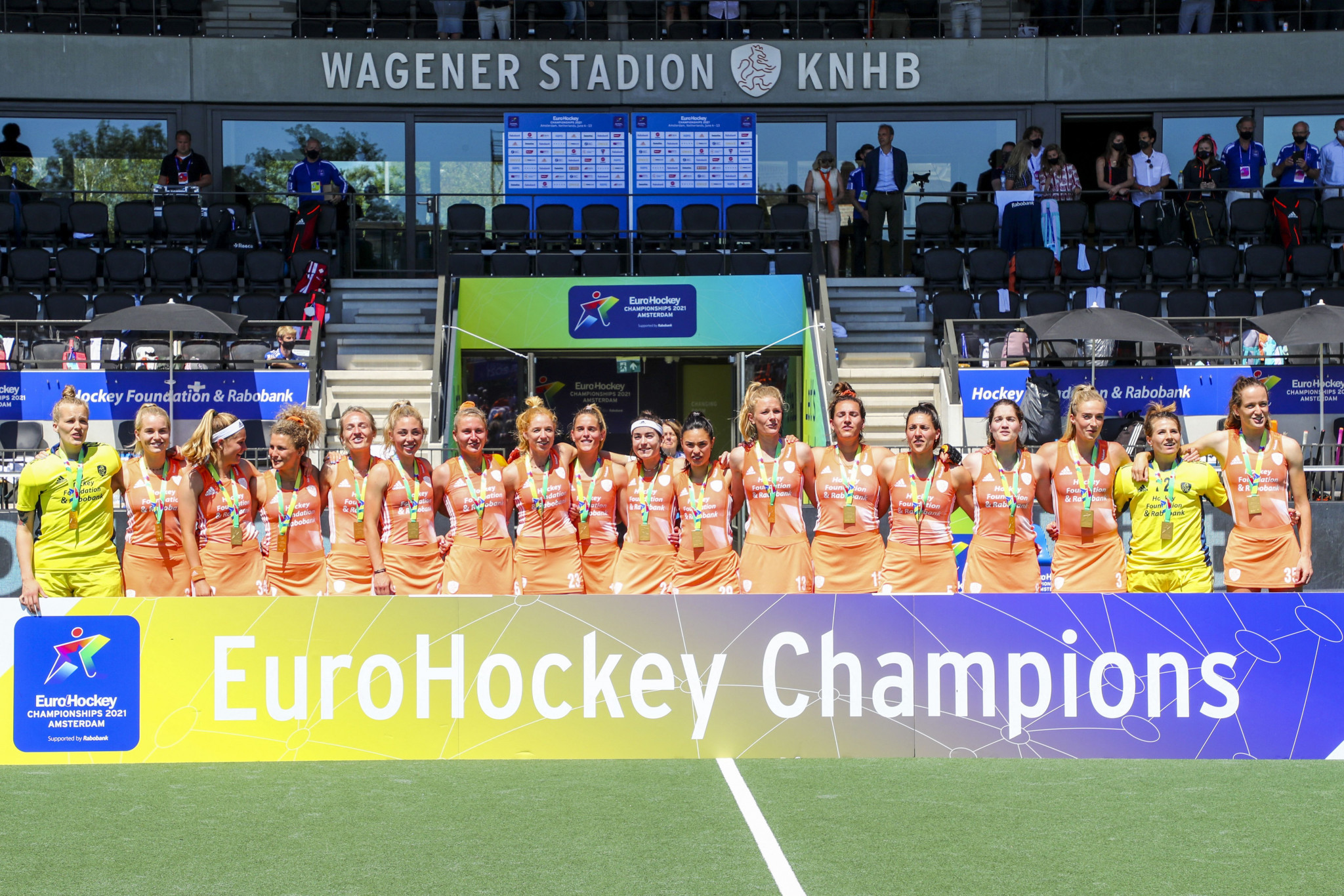 The Netherlands repeat trick to retain Women's EuroHockey Championship crown