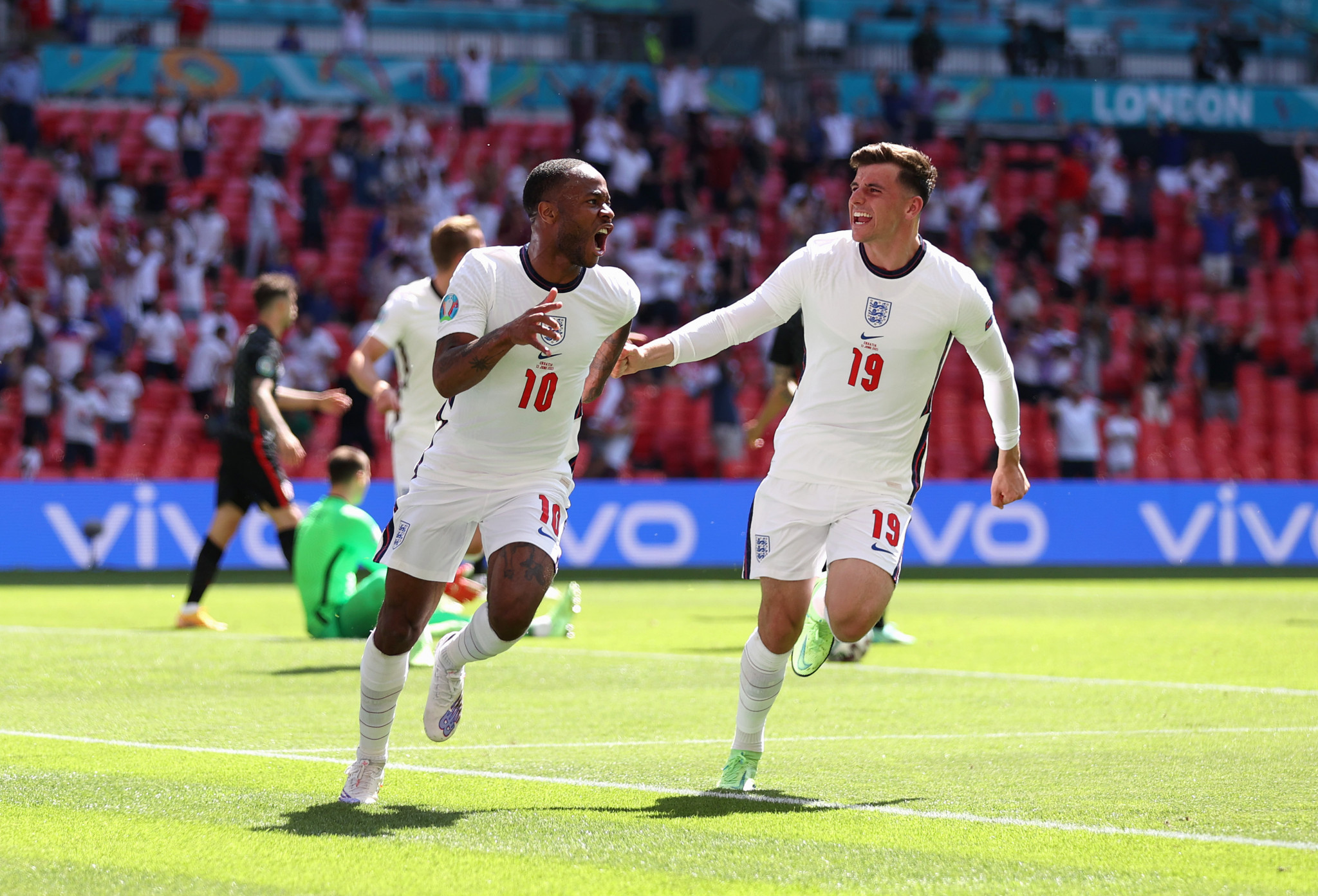 Local lad Sterling gives England victory over Croatia in opening Euro 2020 match at Wembley