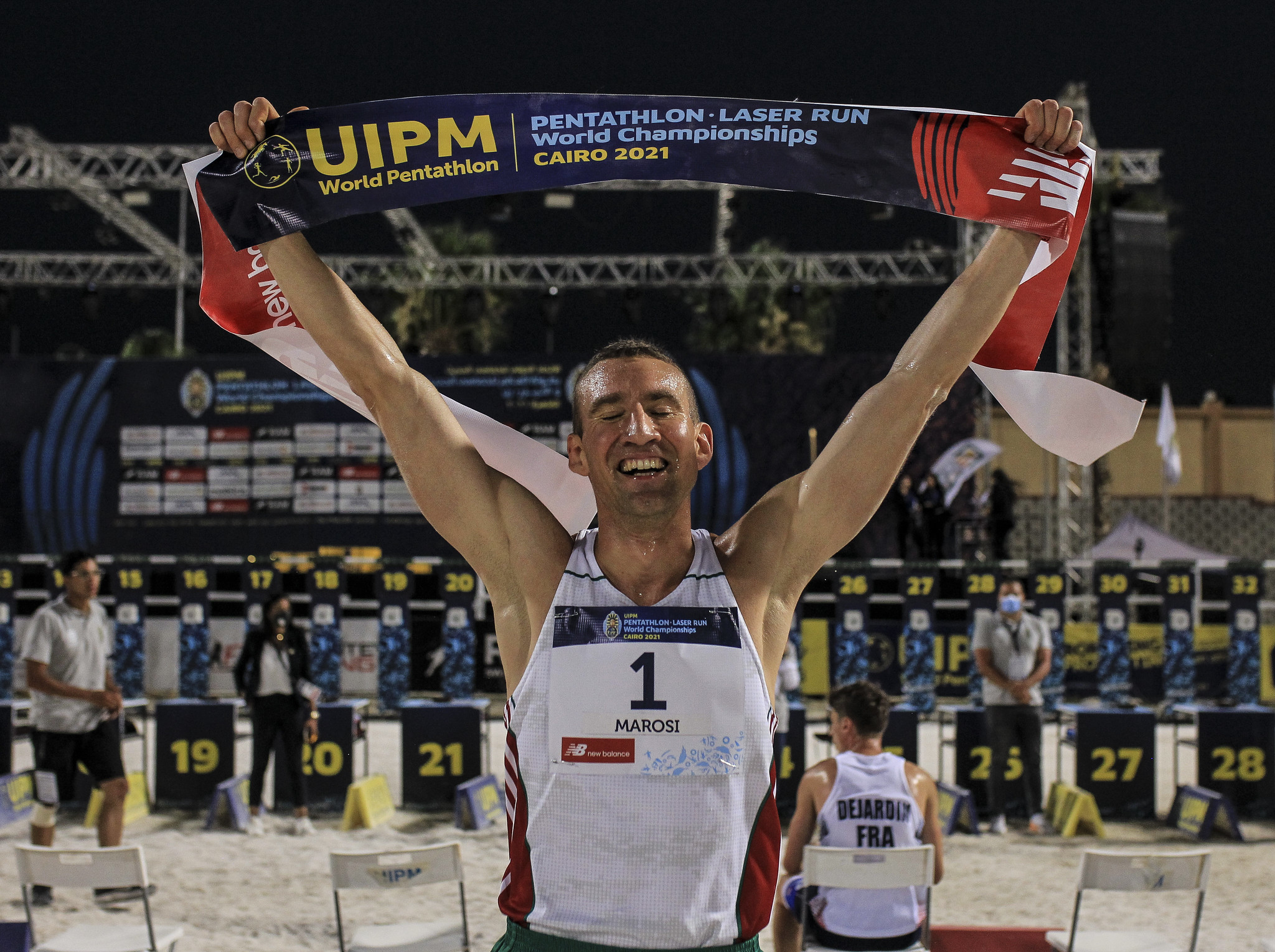 Marosi, 36, wins second career gold at UIPM World Championships in Cairo