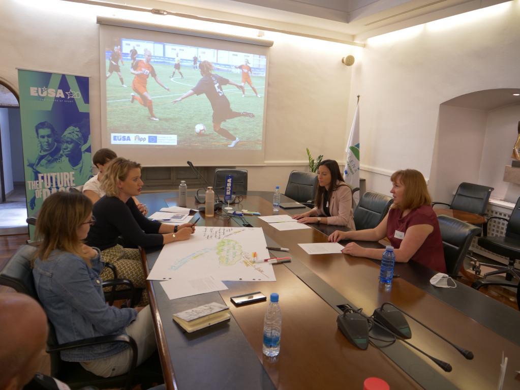 EUSA Institute hosts successful workshop focusing on women leaders in football