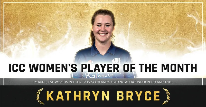 Bryce and Rahim named ICC Players of the Month for May