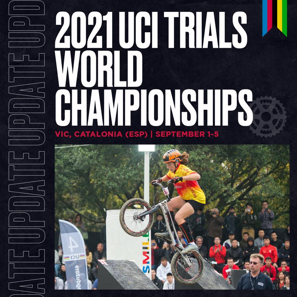 UCI announces 2021 Trials World Championships to be held in Spain