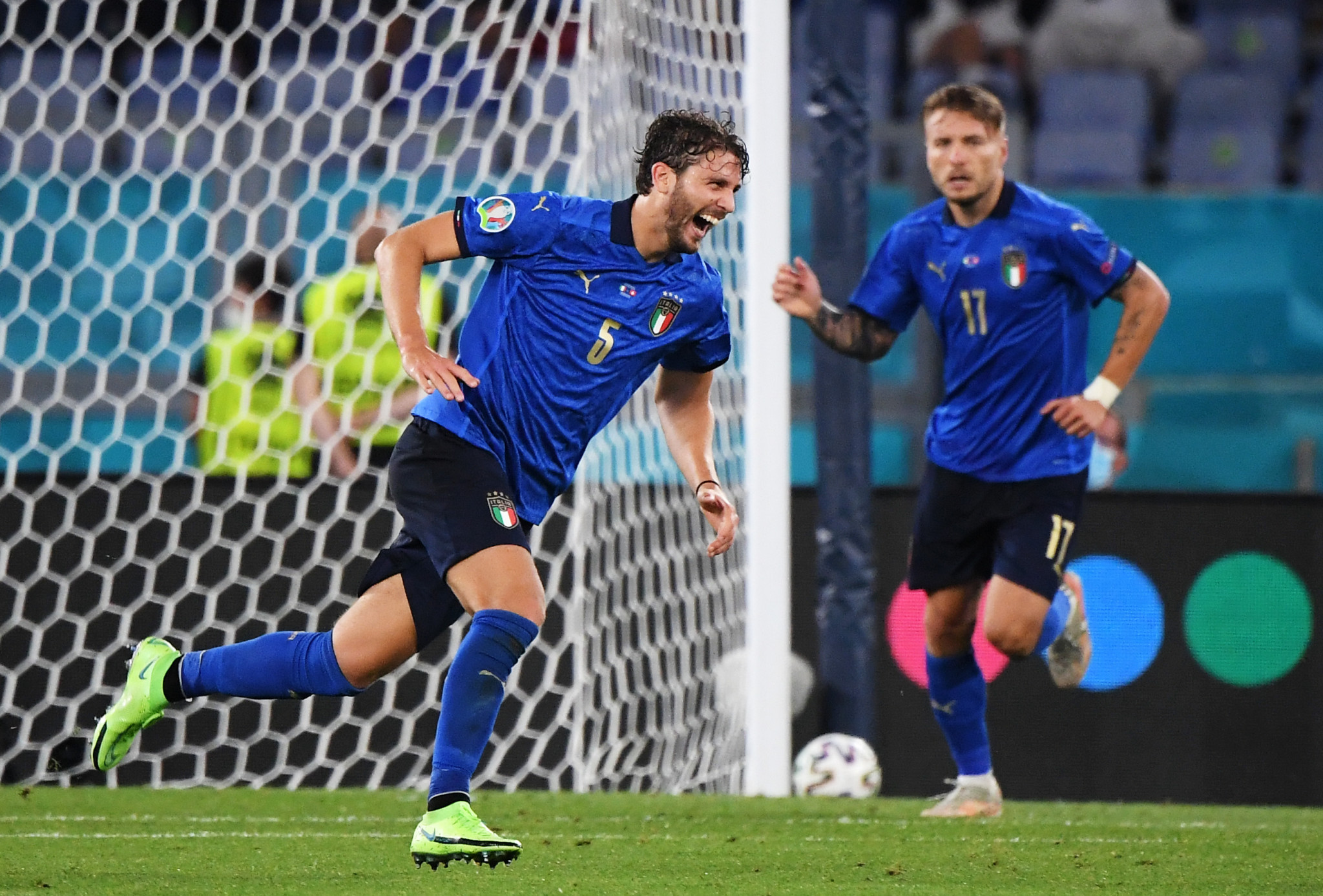 Italy become first side to qualify for next stage of Euro 2020 with second consecutive victory