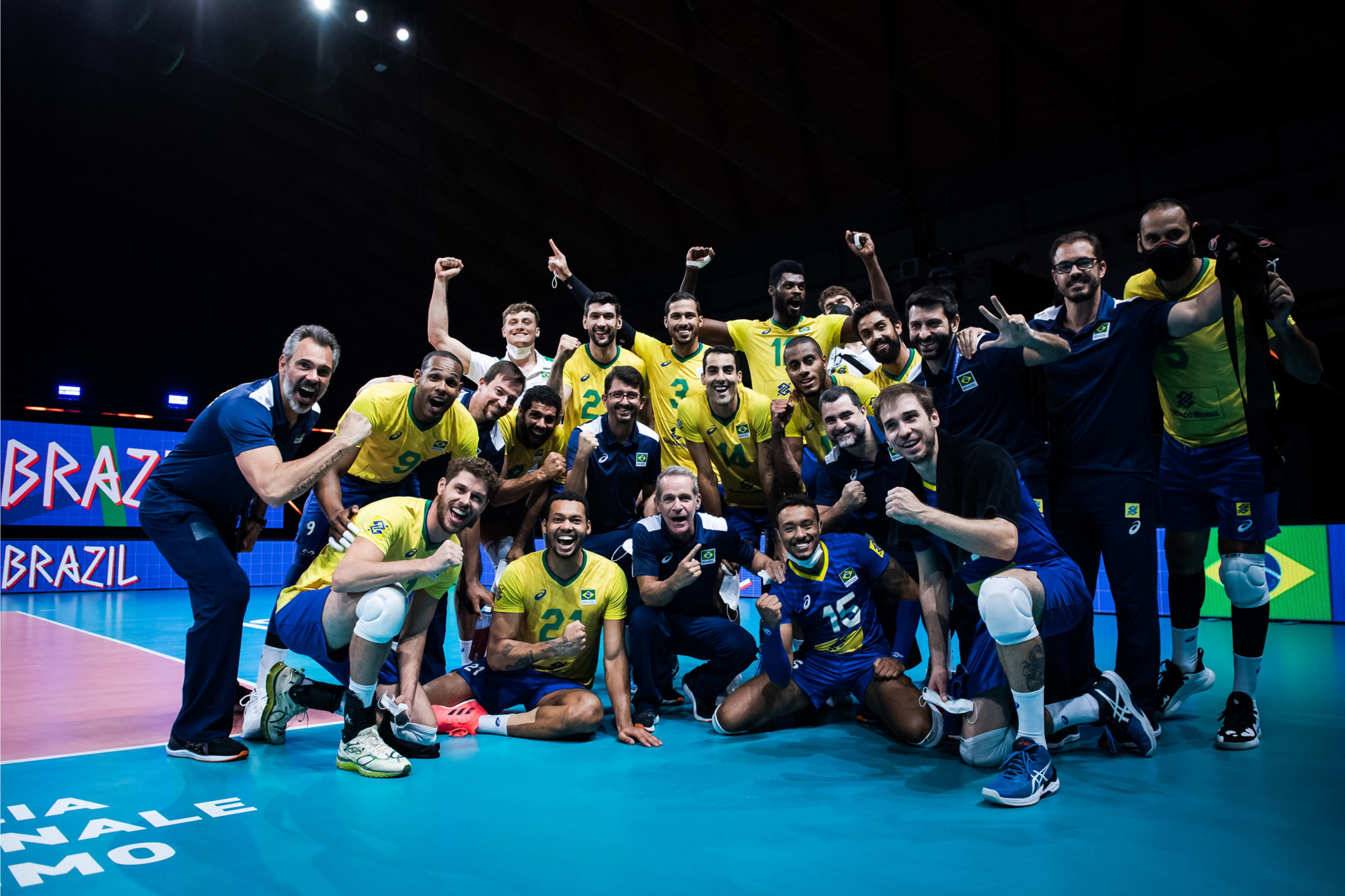 Brazil defeat Iran but Poland remain on their heels in men's Volleyball Nations League