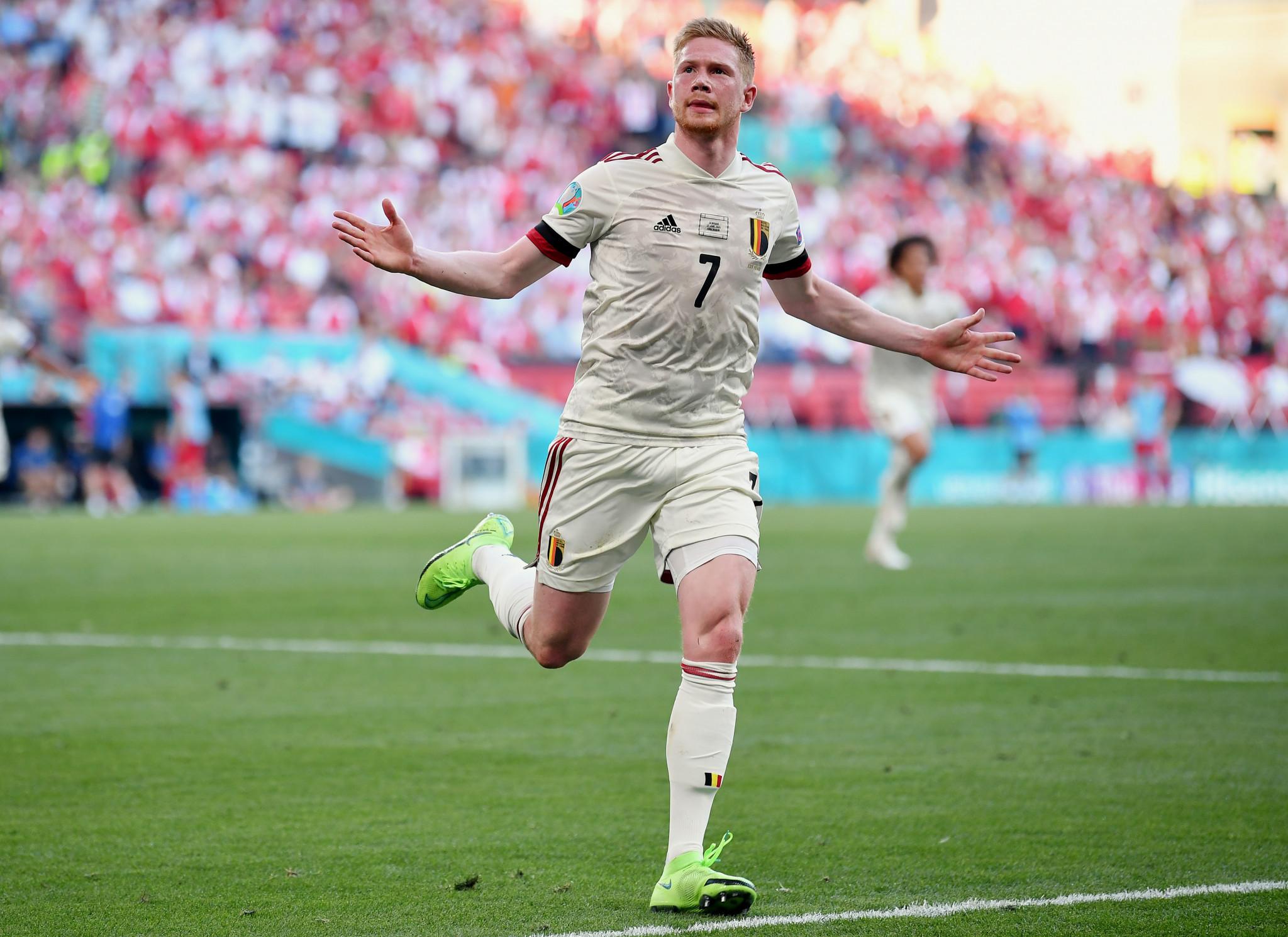 Belgium through to Euro 2020 last 16 after comeback win over Denmark