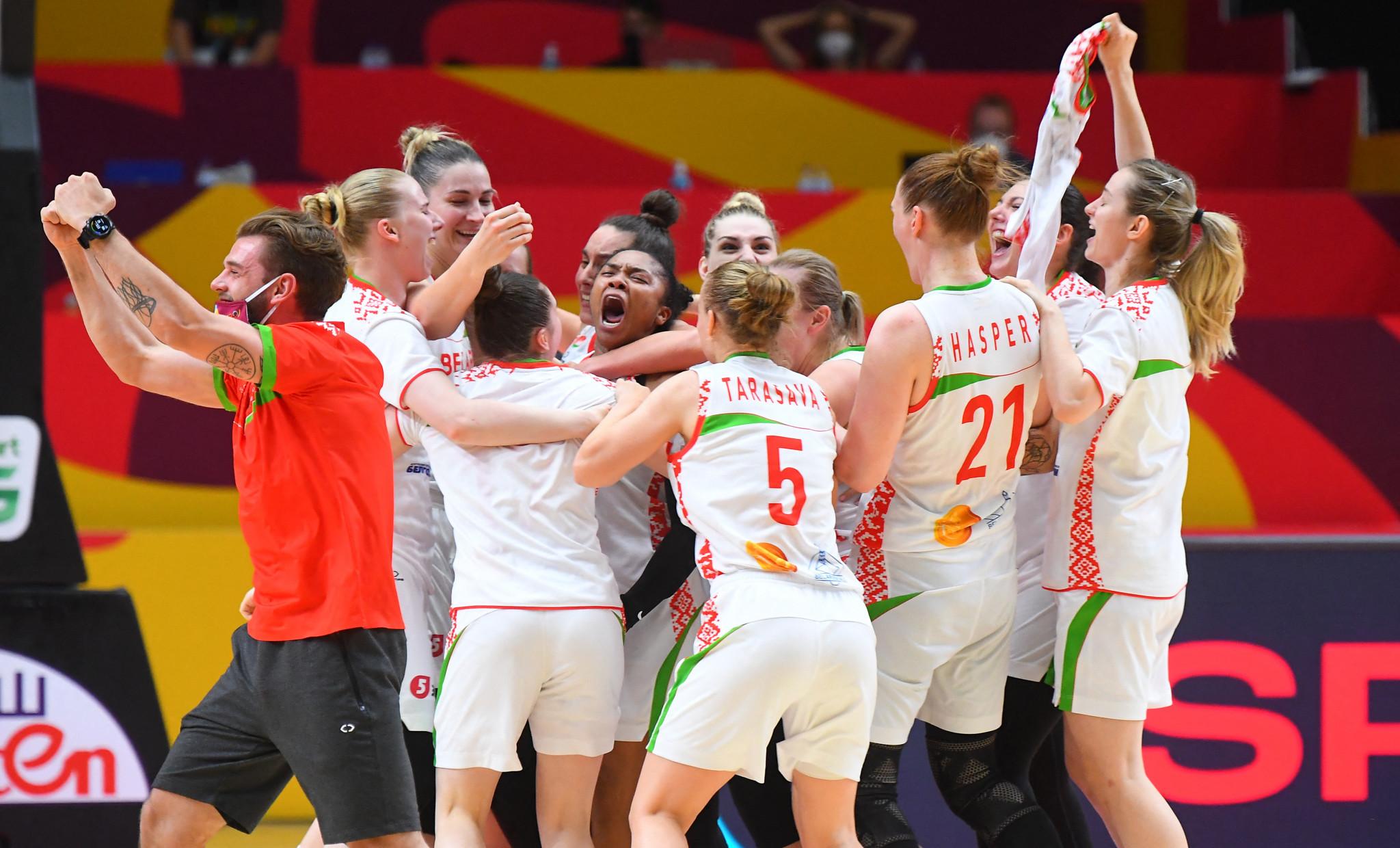 Belarus shock defending champions Spain in Women's EuroBasket opener