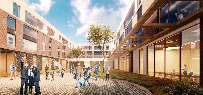 Governor hails campus being built for 2023 FISU World University Games Village