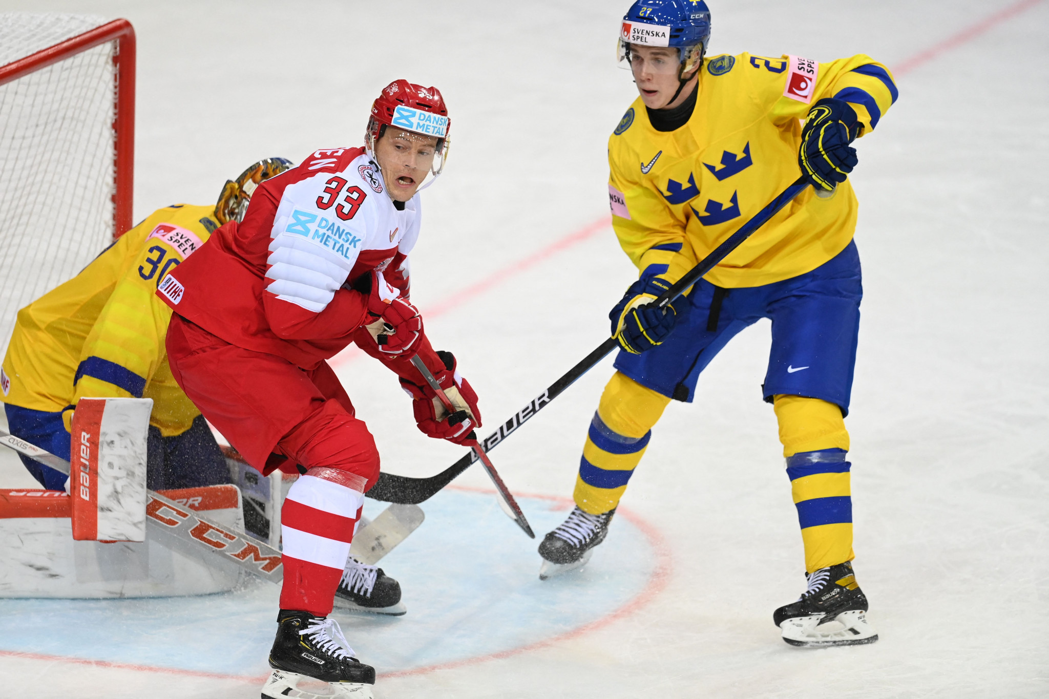 Stockholm and Herning to stage 2025 IIHF World Championship matches