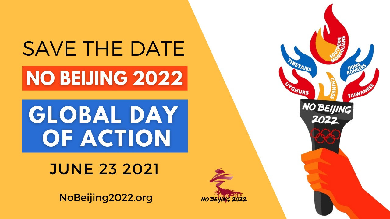Activists to hold global protests on Olympic Day against staging of Beijing 2022