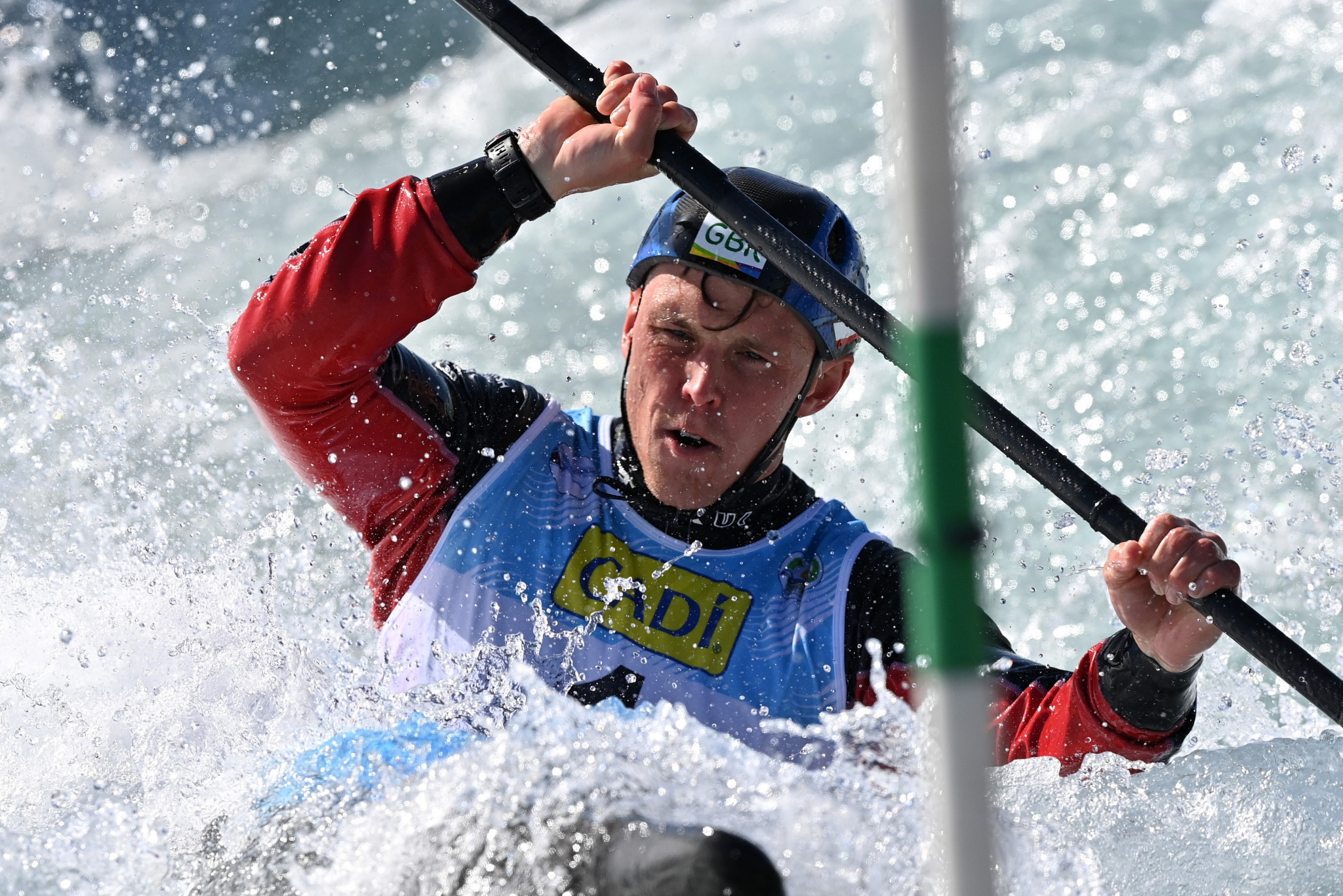 Olympic champion Clarke in red-hot form in ICF Canoe Slalom World Cup heats