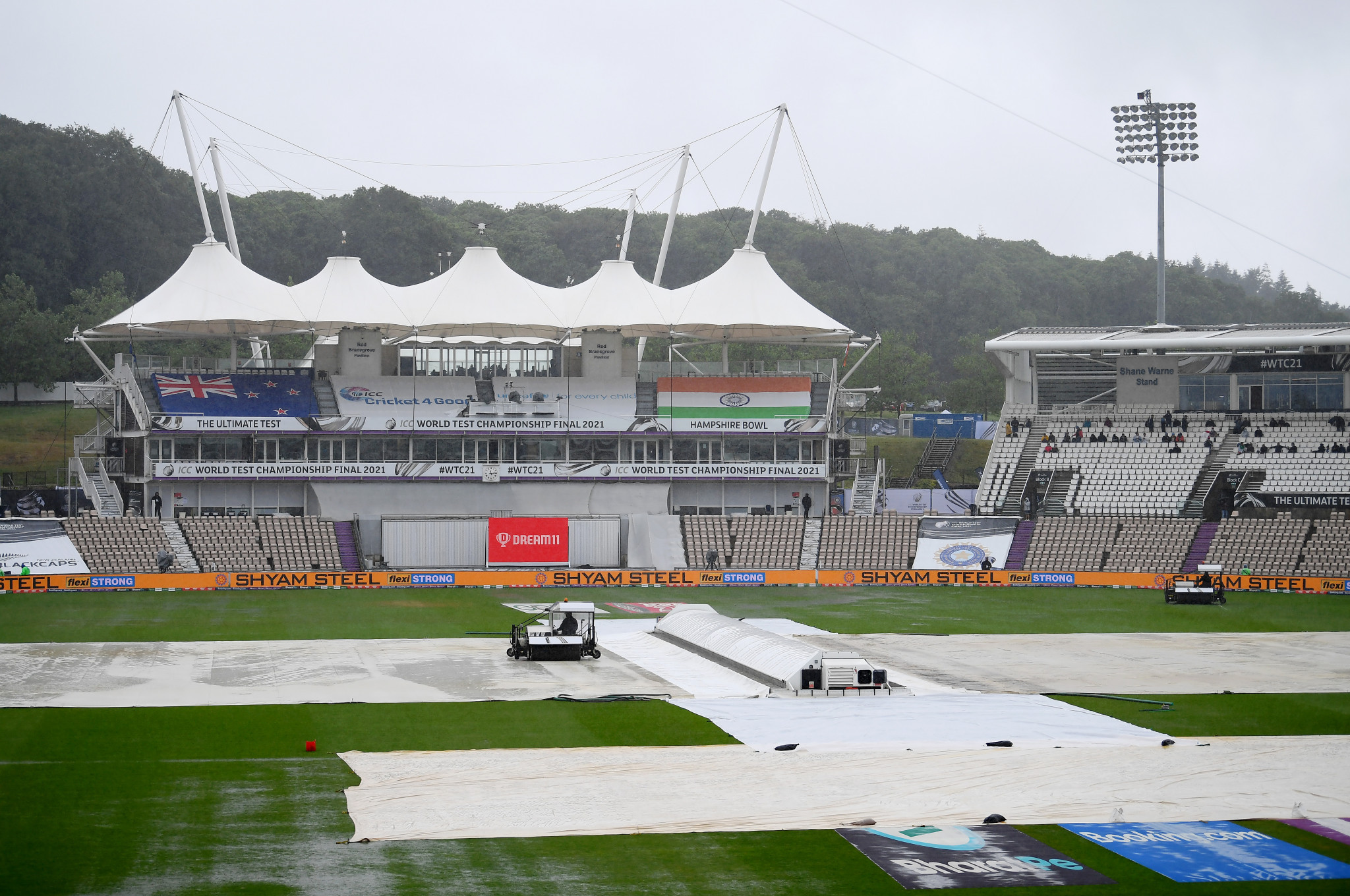 No play possible as rain spoils first day of World Test Championship final