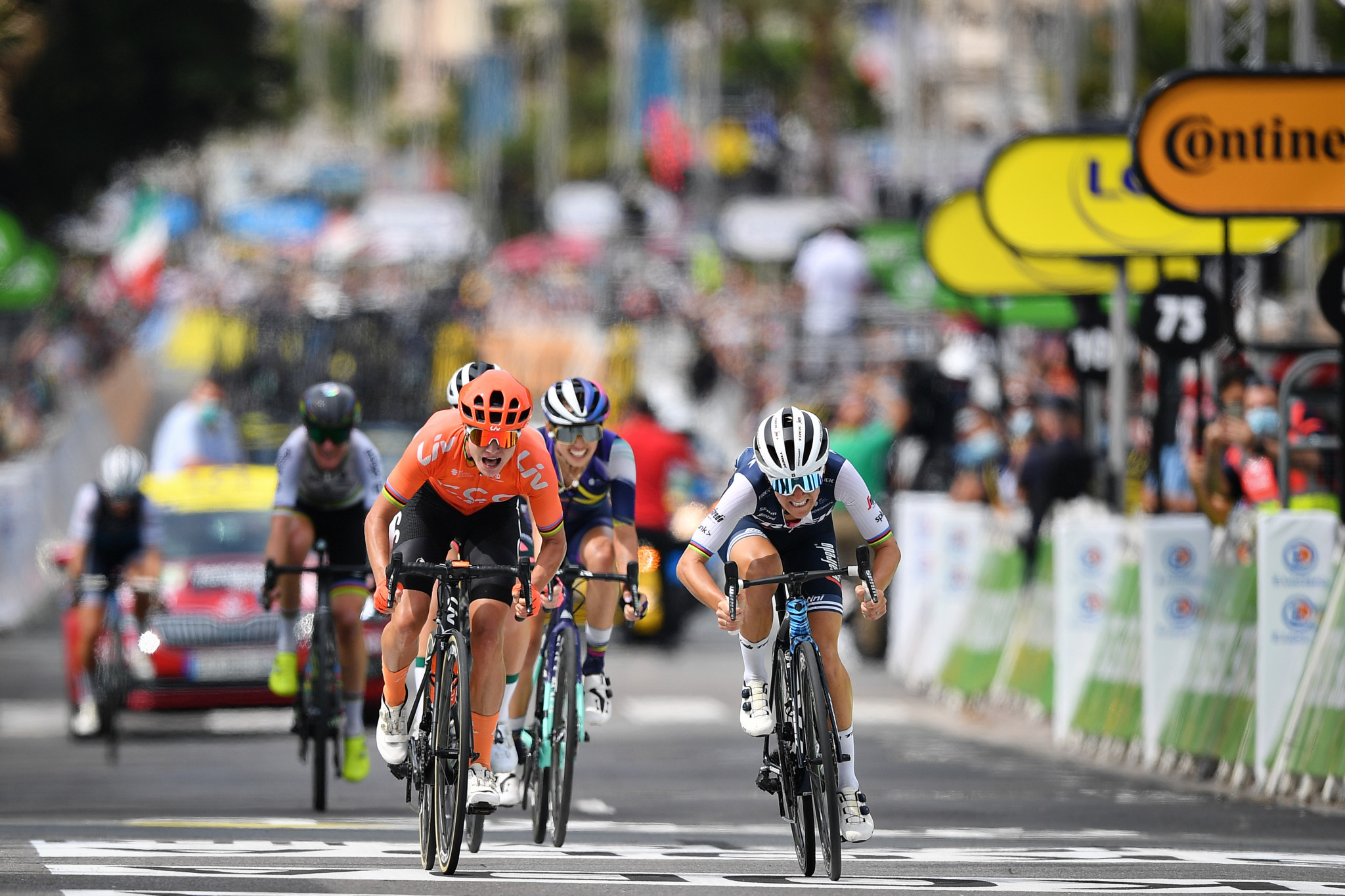 Eight-day women's Tour de France to launch in 2022 supported by Zwift