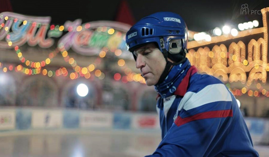 FISU President celebrates Students' Day in Russia with game of bandy in Red Square