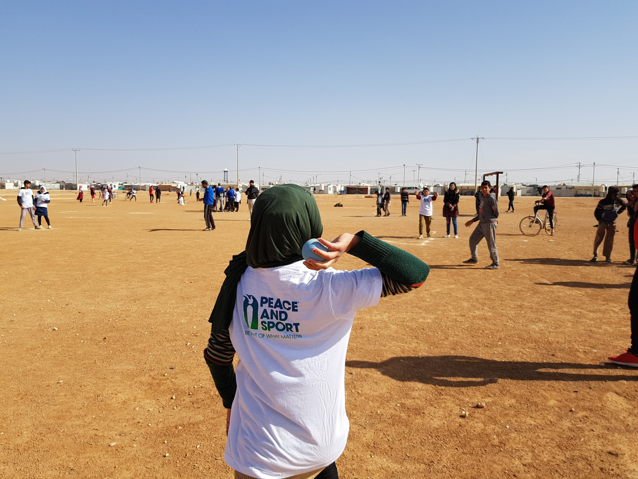 Fraccari believes Baseball5 can offer refugees new opportunities