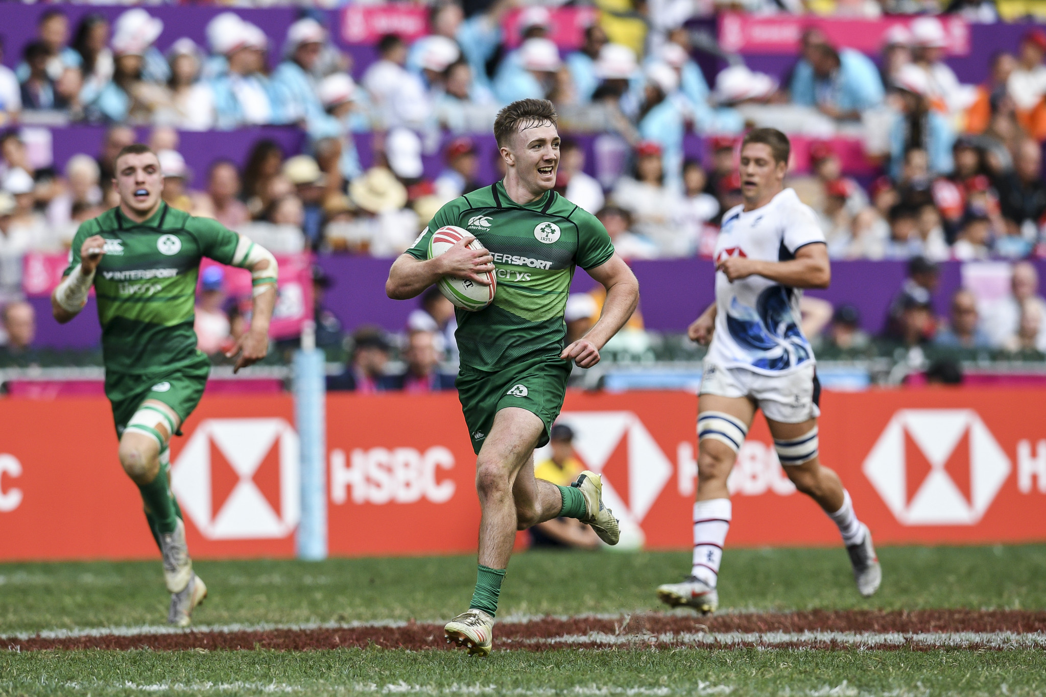 Three wins apiece for Samoa and Ireland at Olympic rugby sevens qualifier