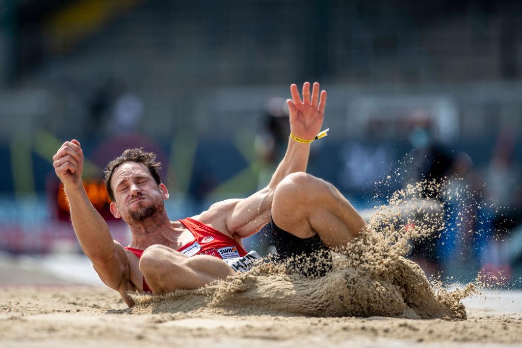 Guy Cosmirek aus Deutschland hat die Olympia-Qualifikation für den Zehnkampf, hat aber die Chance, für Tokio 2020 ausgewählt zu werden, nicht genutzt, weil er an diesem Wochenende in den Wertungen antritt © Getty Images