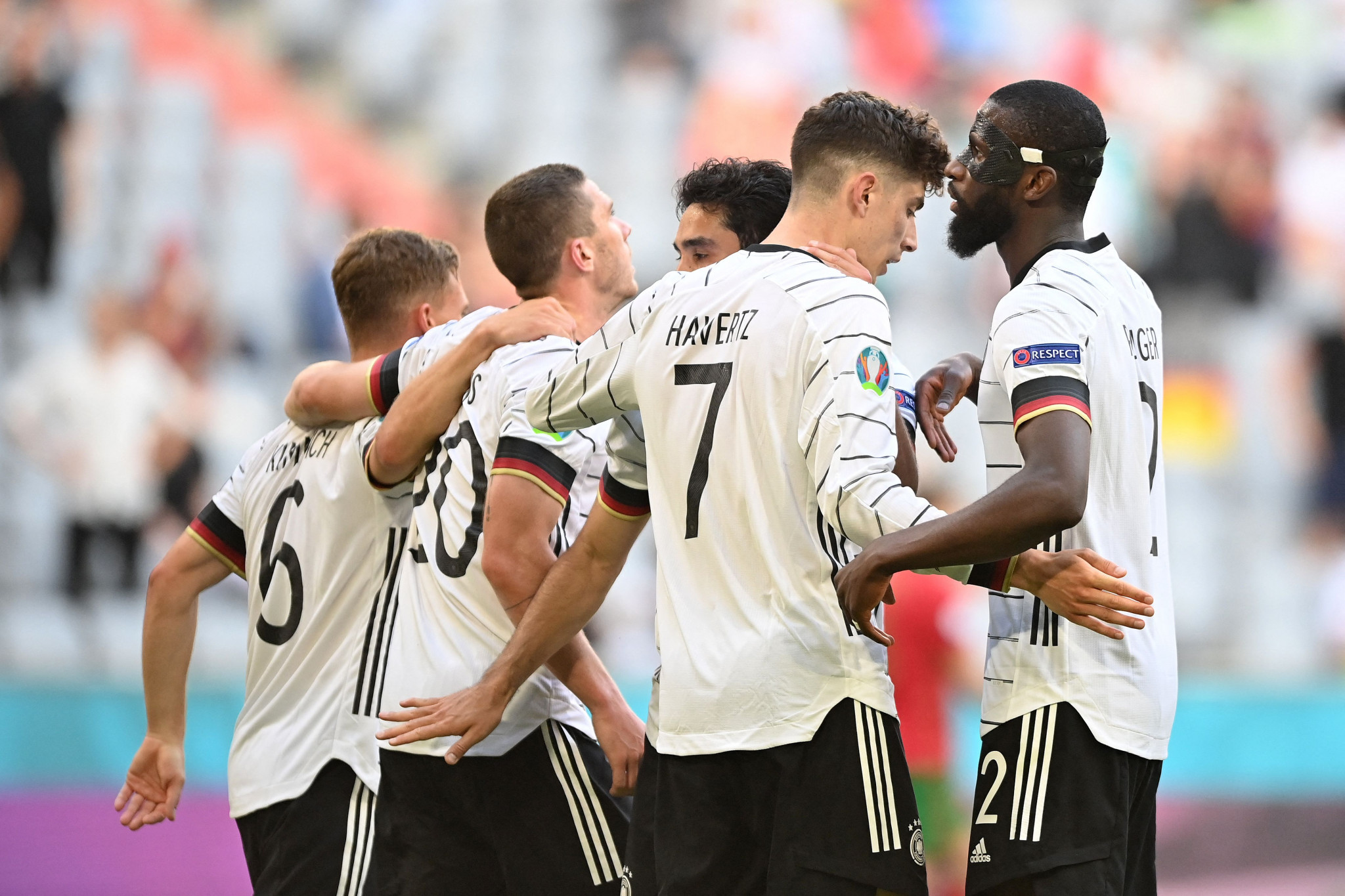 Germany put four past defending champions Portugal as Spain held again at Euro 2020