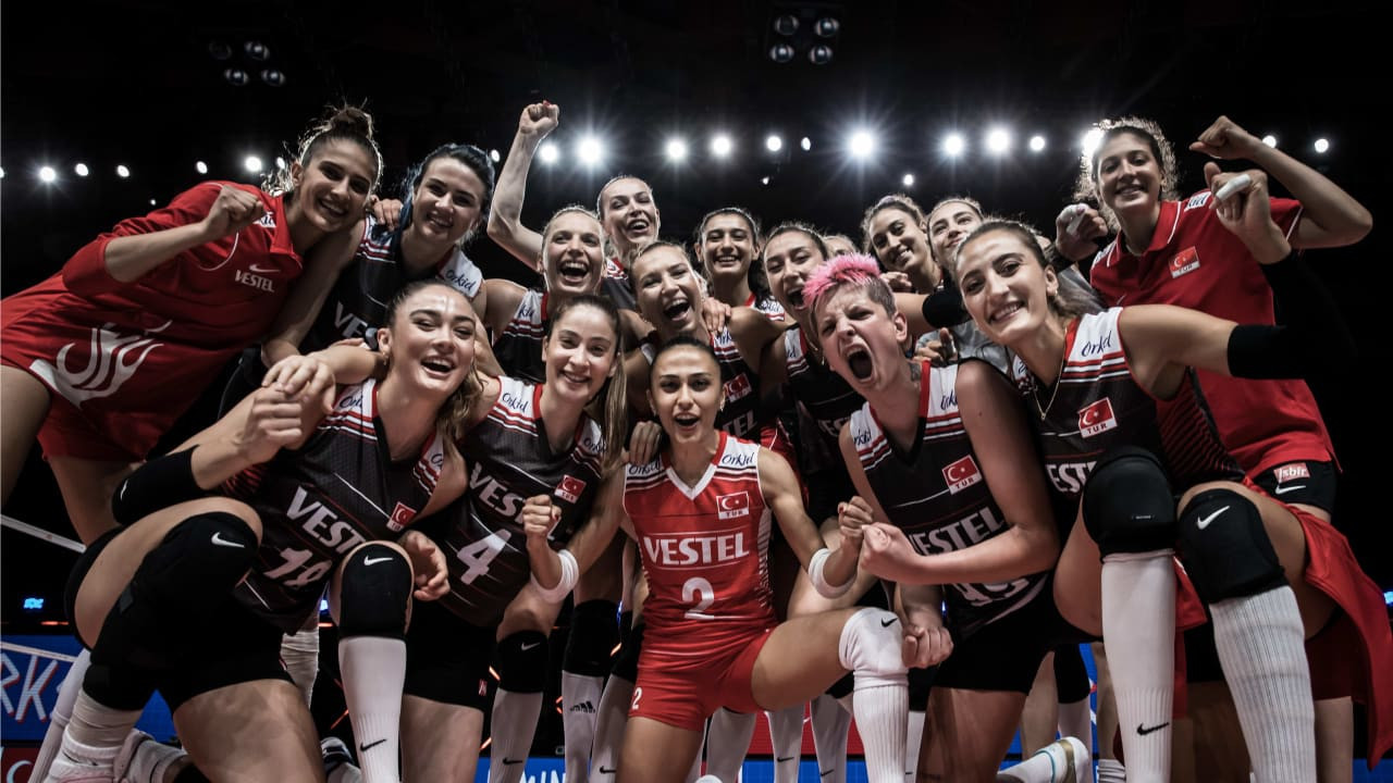 Japan and Turkey book last two semi-final spots at women's Volleyball Nations League