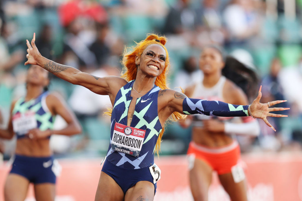 Richardson wins 100m at US Olympic trials to book first Games appearance at Tokyo 2020