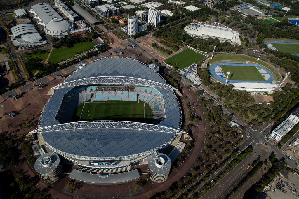 A FIFA delegation will visit all stadiums hosting the 2023 Women's World Cup final in New Zealand and Australia, including Stadium Australia, which is due to host the final on August 20 © Getty Images