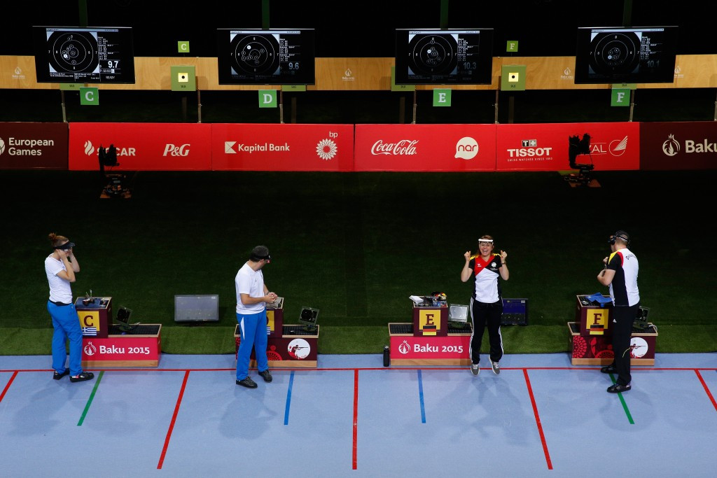 Mixed team competitions will feature at the European Shooting Championship for the first time ©Getty Images