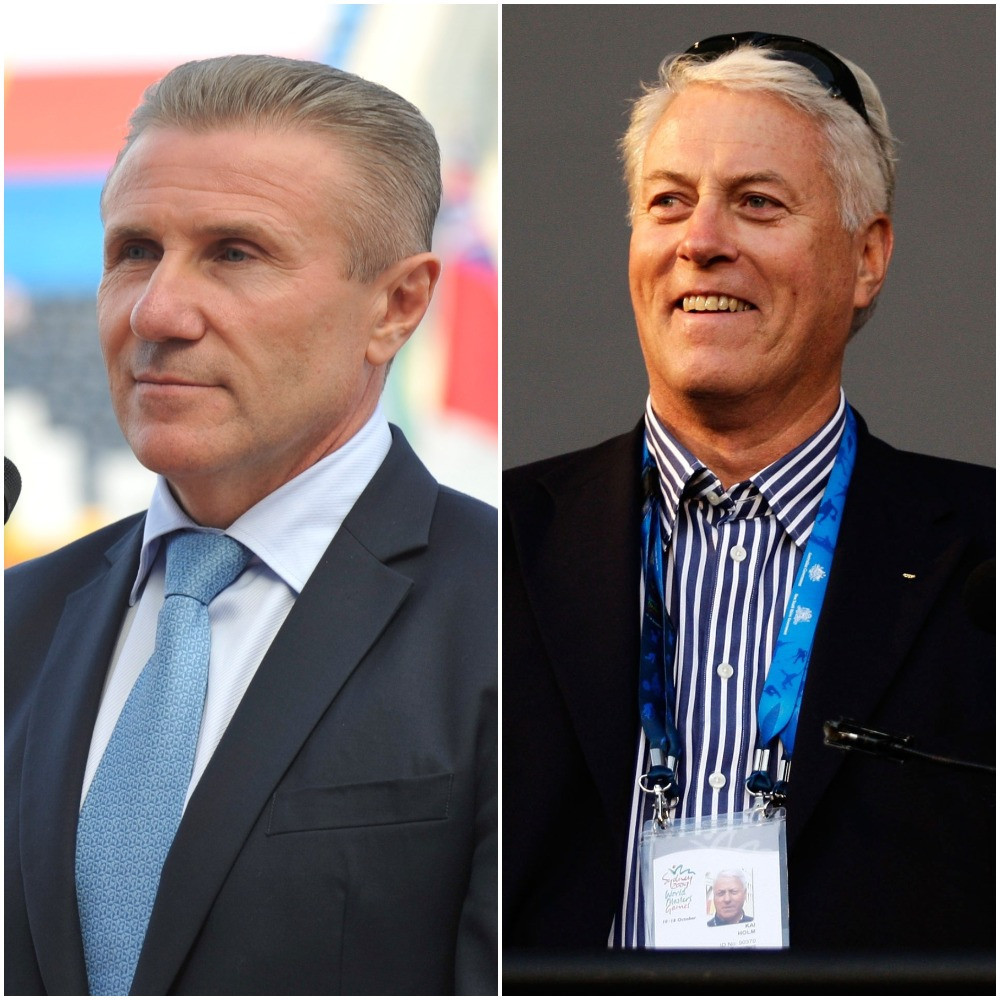 Bubka takes over as Acting President of International Masters Games Association