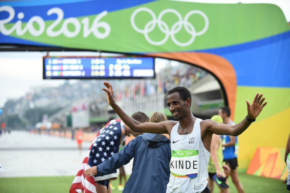 Original member of Refugee Olympic Team says he owes running everything