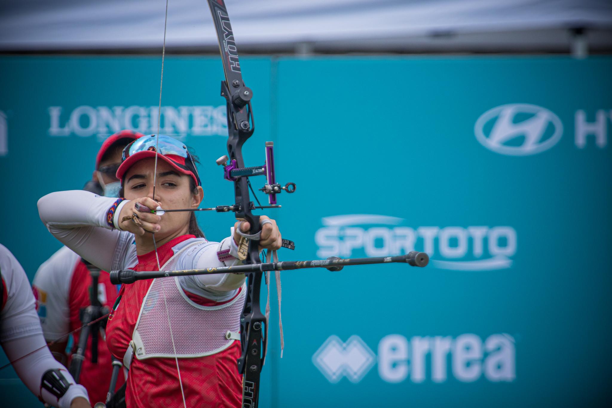 Ana Vásquez formó parte del equipo mexicano que ganó el oro en la categoría de revisión femenina en las eliminatorias olímpicas finales en París © Getty Images