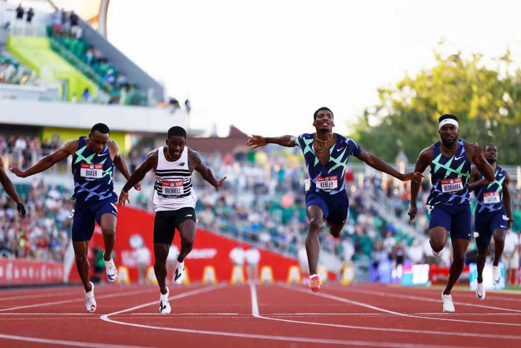 Bromell wins 100m as McNeal earns provisional place at US Olympic trials