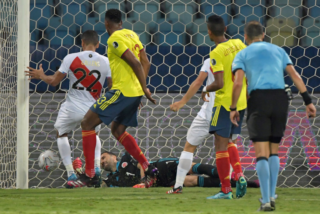 Peru beat Colombia as Venezuela draw with Ecuador at Copa América