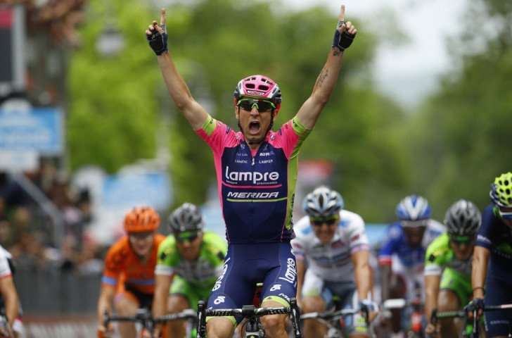Italian Diego Ulissi claimed victory in the seventh stage of the Giro d'Italia ©Getty Images