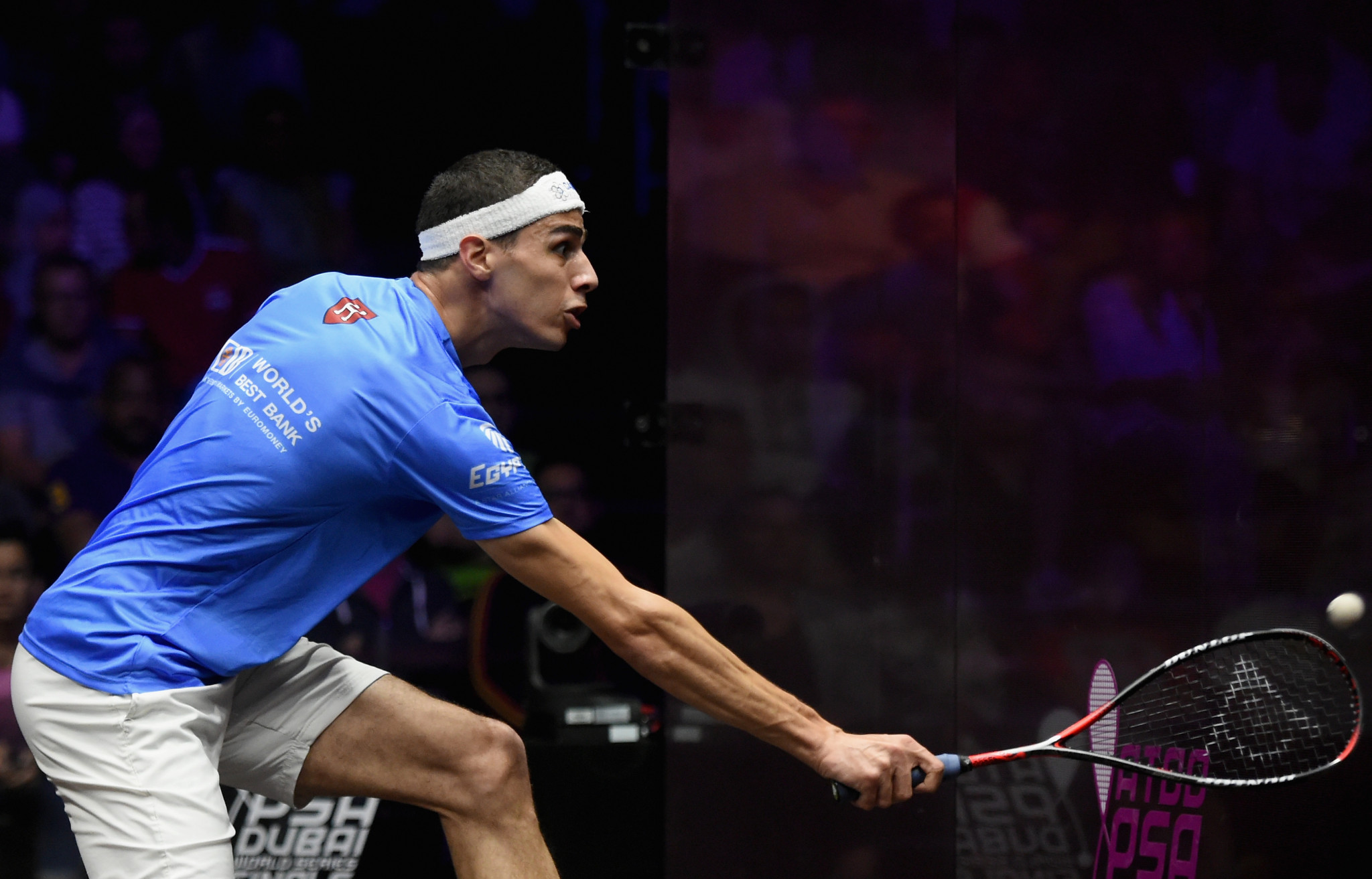 Farag to face defending champion on opening day of PSA World Tour Finals